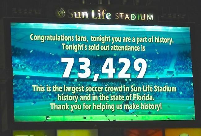 Brasil-Colombia Sun Life Stadium Florida