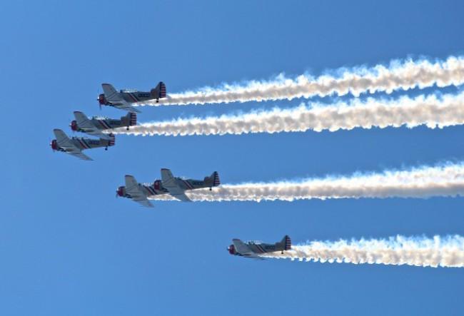 Show aereo en Stuart