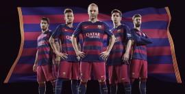 El Barcelona con nueva camiseta